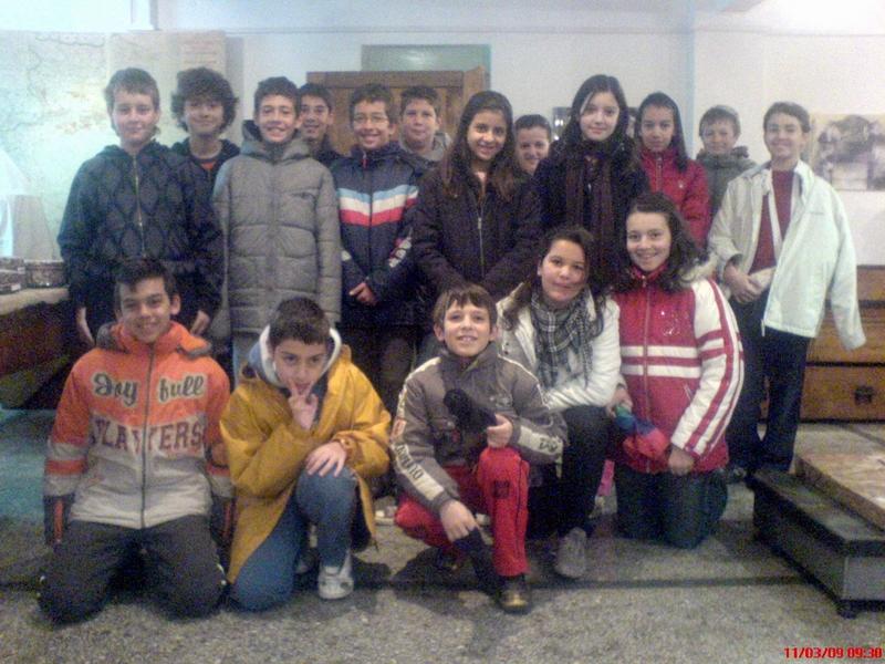 Κελέκης με τα παιδιά του σχολείου μας